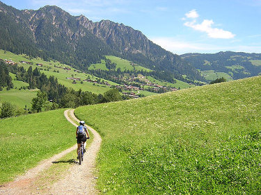 A Cyclist In Tyrol (Austria) by notfrancois, on flickr